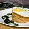 Korean Kimchi Fried Rice With A Sunny Side Up (김치볶음밥)