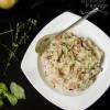 Simple Italian Ham & Mushroom Risotto