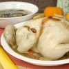Steamed Chicken With Mushroom & Herbal Gravy