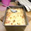 Healthy Home-Baked Cauliflower Casserole With Mozzarella Cheese