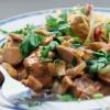 Pfeffer-Rahm Geschnetzeltes (Pepper & Cream Style Pork Stir-Fry)