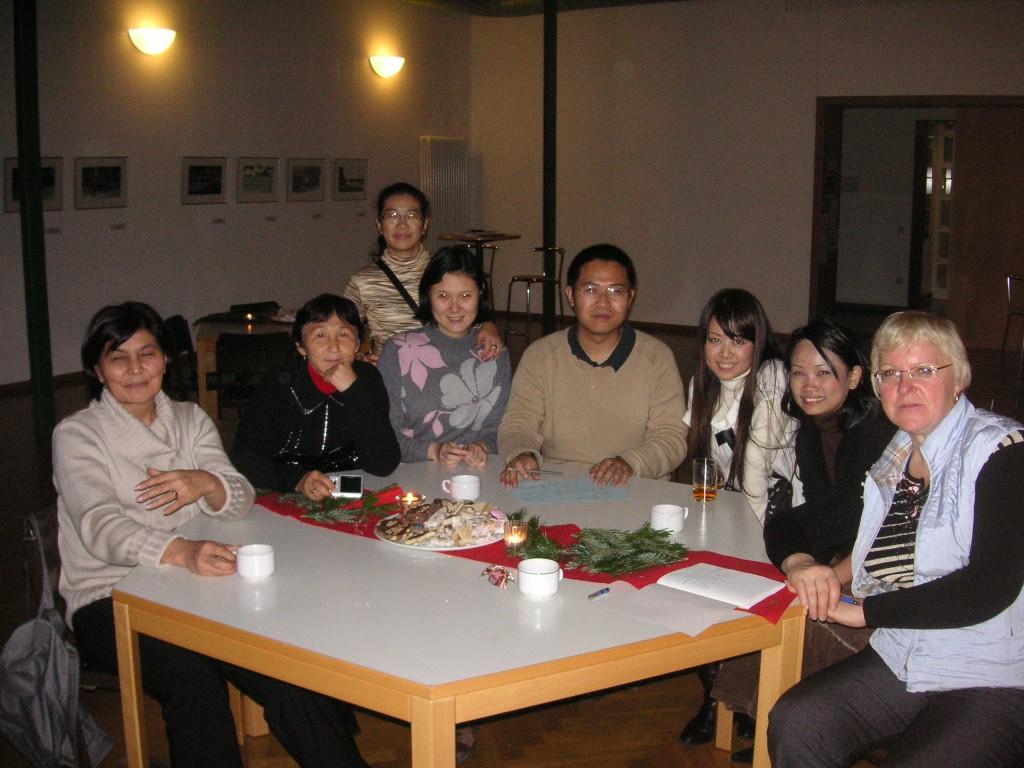 asiatische Freundschaften