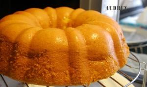 Orange Sponge Cake 1