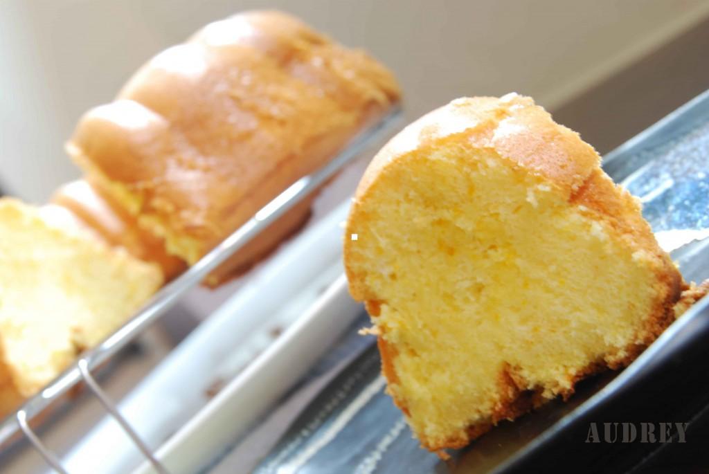 Orange Sponge Cake 2