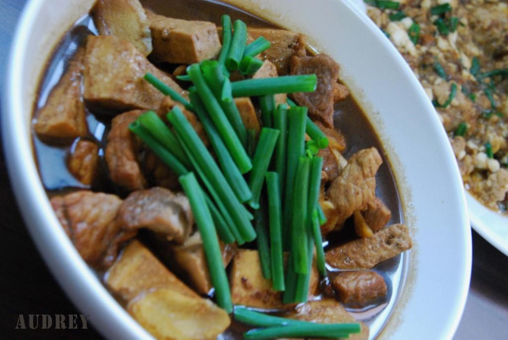 Braised Pork and Tofu