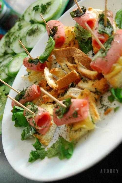 Garden Sandwiches