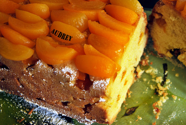 Apricot And Butter Cake