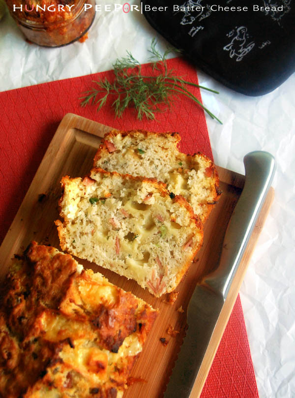 Beer Batter Cheese & Dill Bread 2