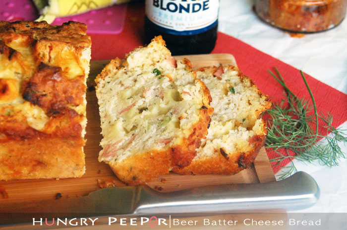 Beer Batter Cheese & Dill Bread