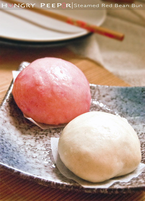Steamed Red Bean Bun 4