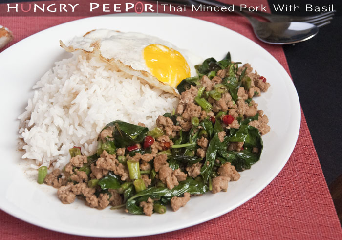 Thai Minced Pork With Basil 2