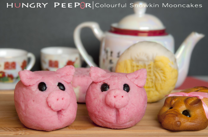 Colourful Snowskin Mooncakes