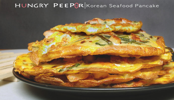 Korean Seafood Pancake 1