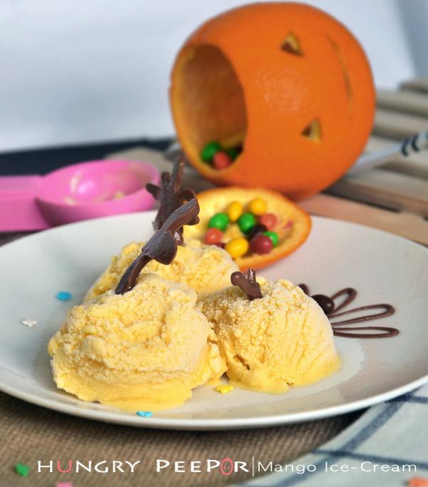 Mango Ice-Cream 1