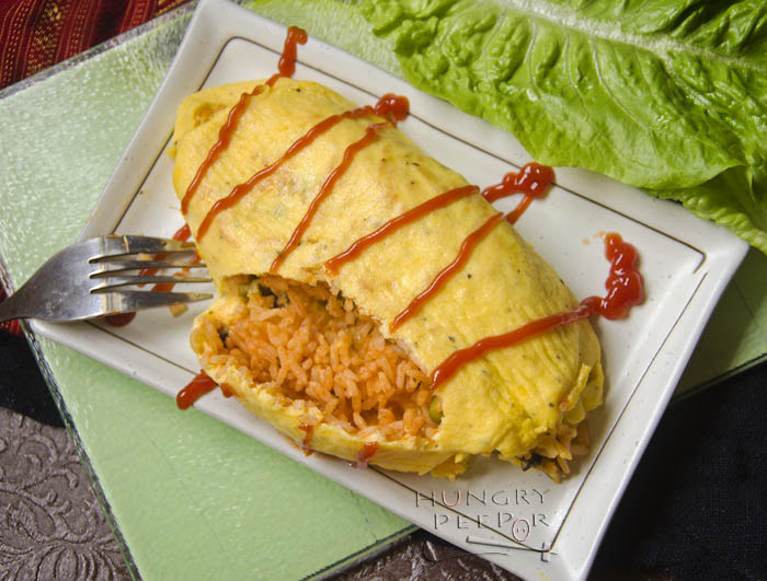 Unwrapping The Year With Omurice | Hungry Peepor