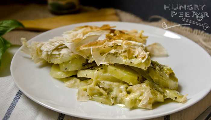 Potato Filo Pie 2