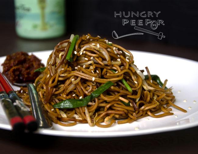 Fried Hong Kong Noodles 3