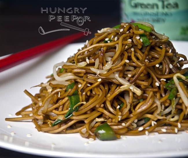Fried Hong Kong Noodles