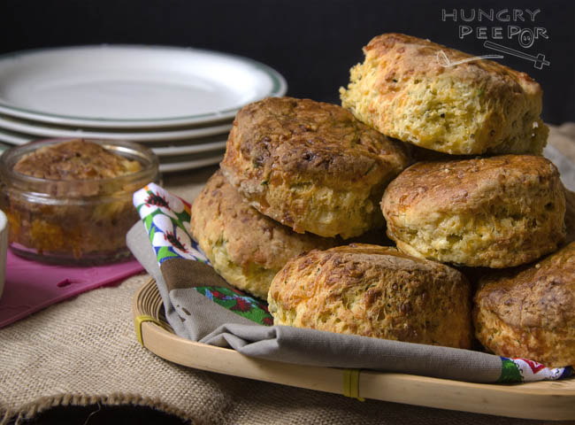 Cheese & Herb Scones 3