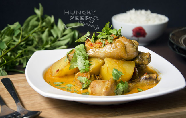 Chinese Curry Chicken 2