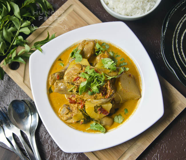 Chinese Curry Chicken 3