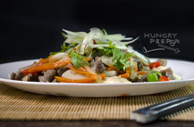 Korean Stir-Fried Rice Cake 3