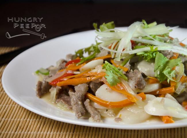 Spicy Rice Cake Ramen Recipe