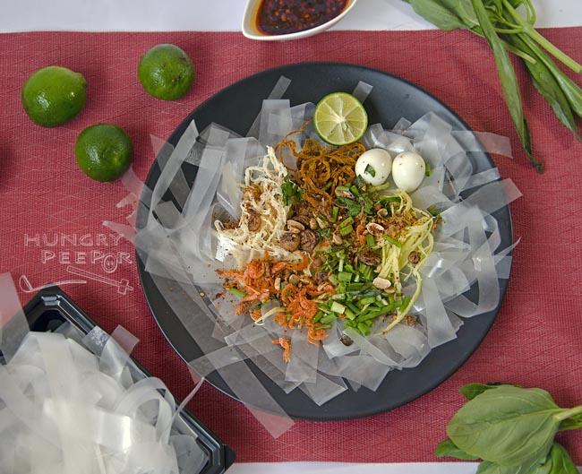 Vietnamese Rice Paper Salad 3
