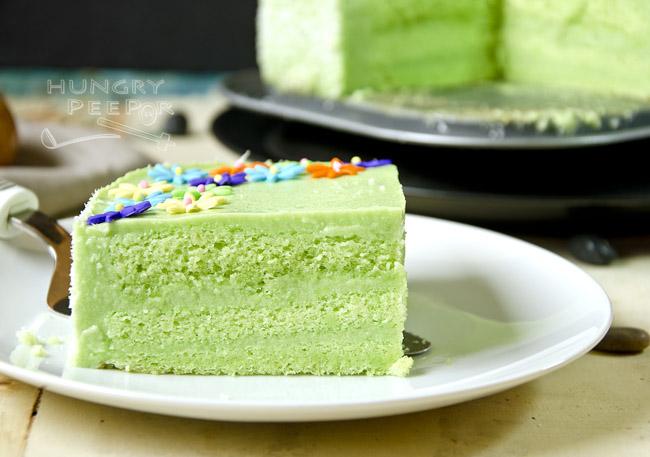 Pandan Kaya Cake 2