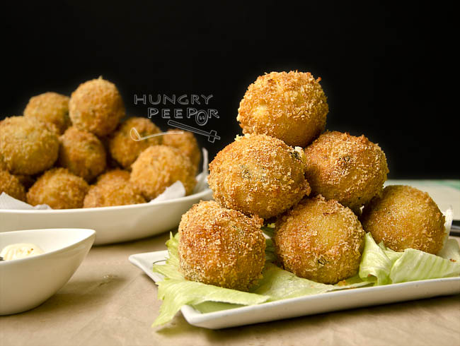 Cheesy Potato Balls 2