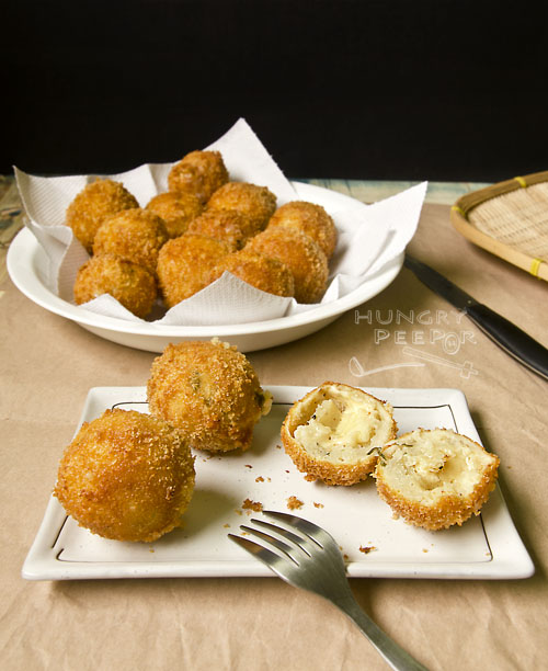 Cheesy Potato Balls 3
