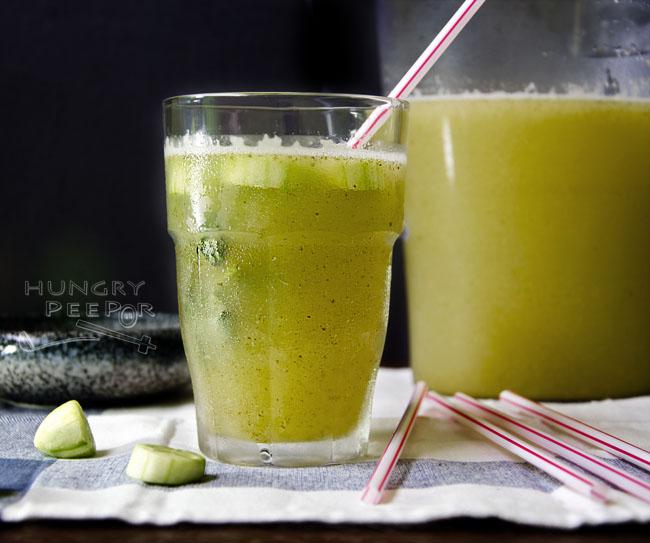 Mint & Cucumber Lemonade 2