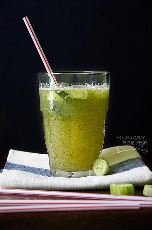 Mint & Cucumber Lemonade