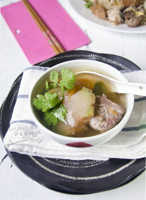 Sichuan Vegetable Pork Rib Soup 2