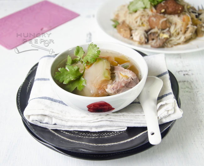 Sichuan Vegetable Pork Rib Soup