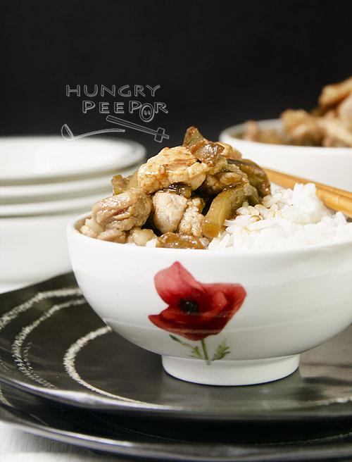 Sichuan Vegetable with Pork Stir-Fry 2