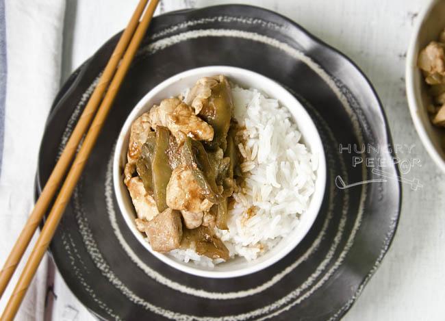 Sichuan Vegetable with Pork Stir-Fry