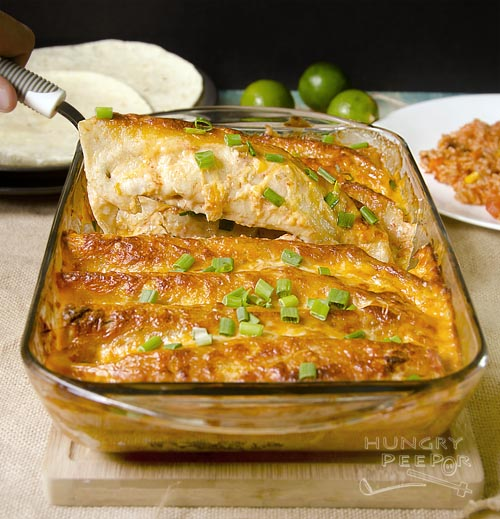 Chicken Enchilada 3