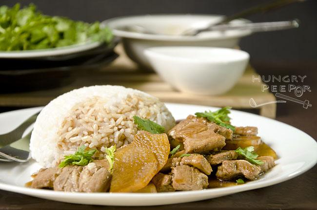 Stir-fry Potato & Pork 2