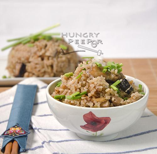 Teochew Yam Rice 2
