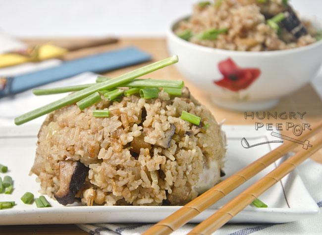 Teochew Yam Rice 3