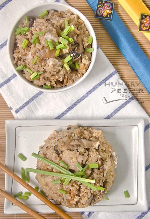 Teochew Yam Rice