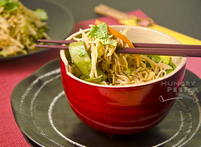Vegetable Lo Mein 3
