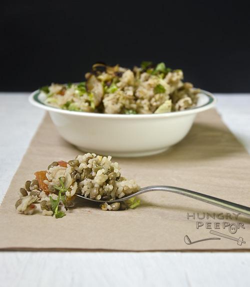 Lentils & Rice 3