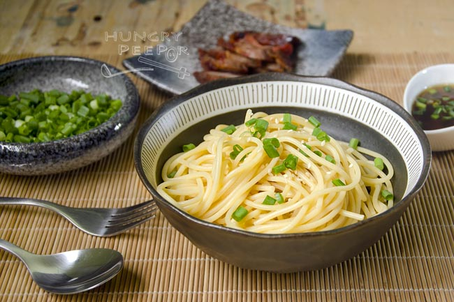 Sesame noodles with Char Siew 3