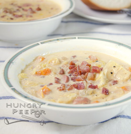 Cabbage & Carrot Chowder 3