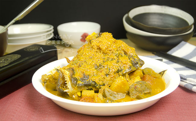 Asam Curry Fish Head 3