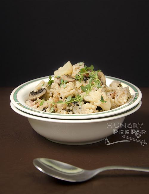 Mushroom & Cauliflower Rice 2