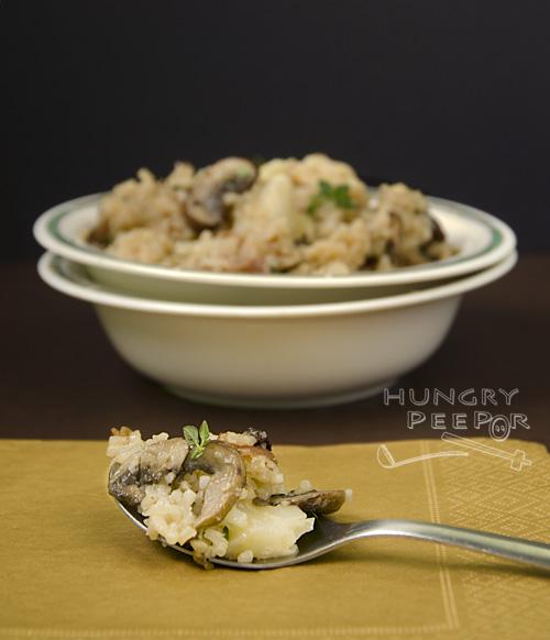 Mushroom & Cauliflower Rice 3