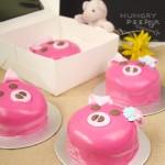 Pig Fondant Cake 2